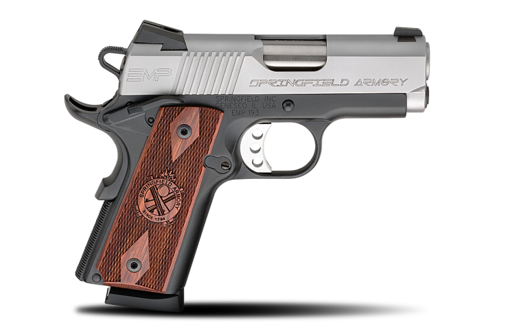 Springfield Armory EMP - Photo via: http://www.springfield-armory.com/products/1911-emp-9-mm/