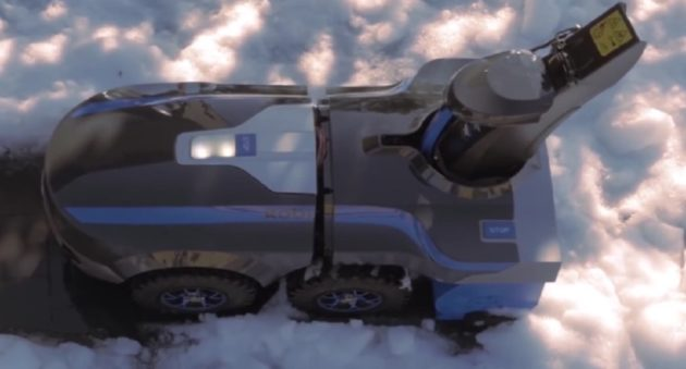robot will snow blow your driveway