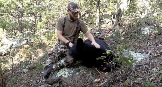 It Takes Some Serious Skill To Kill A Public Land Black Bear On Foot With A Recurve Bow
